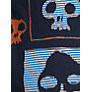 Buy John Lewis Boy Skulls Galore T-Shirt, Navy Online at johnlewis.com