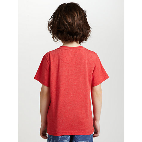 Buy John Lewis Boy Submarine T-Shirt, Red Online at johnlewis.com