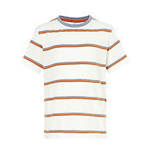 Buy John Lewis Boy Double Stripe T-Shirt Online at johnlewis.com