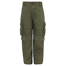 Buy John Lewis Boy Zip-Off Leg Combat Trousers Online at johnlewis.com