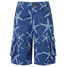 Buy John Lewis Boy Twill Starfish Cargo Shorts Online at johnlewis.com