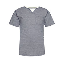 Buy Kin by John Lewis Boys' Contrast Crew Neck Pocket T-Shirt, Grey Online at johnlewis.com