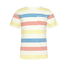 Buy Kin by John Lewis Boys' Striped Crew Neck T-Shirt, Multi Online at johnlewis.com