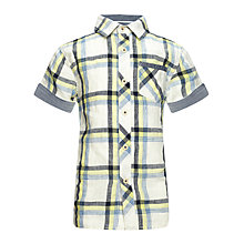 Buy Kin by John Lewis Boys' Checked Shirt Online at johnlewis.com