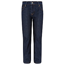 Buy Levi's 501 Straight Danny Jeans, Dark Denim Online at johnlewis.com
