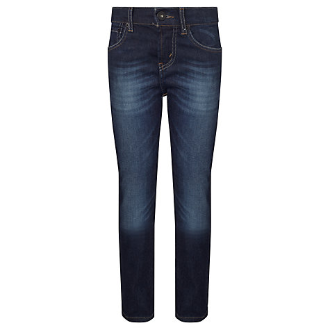 Buy Levi's 510 Boys' Skinny Noah Mid Denim Jeans, Blue Online at johnlewis.com