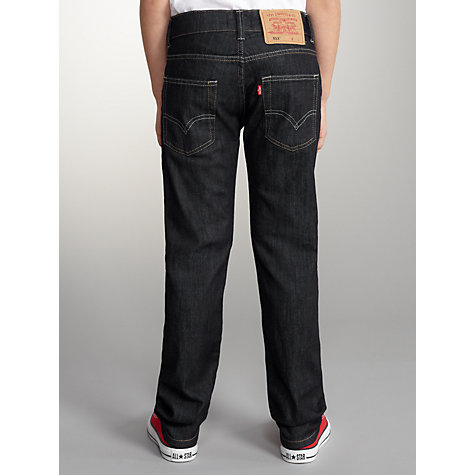 Buy Levi's 511 Boys' Slim Bryan Jeans, Dark Denim Online at johnlewis.com