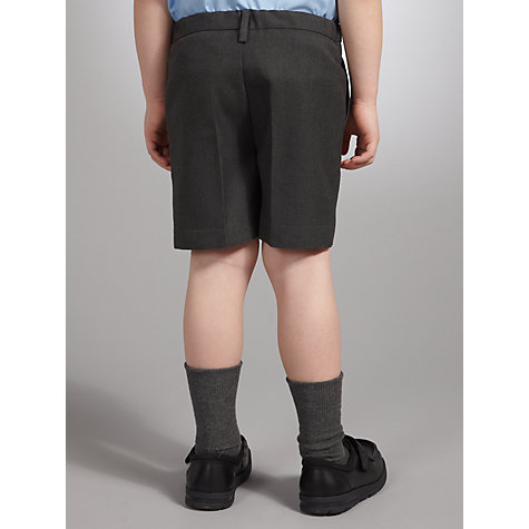 Buy John Lewis Boys' School Shorts, Grey Online at johnlewis.com