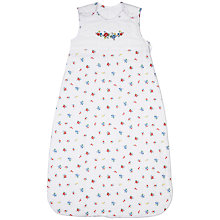 Buy John Lewis Baby La Rochelle Sleeping Bag, 2.5 Tog, Red Online at johnlewis.com