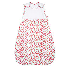 Buy John Lewis Baby La Rochelle Sleeping Bag, 2.5 Tog, Red, 0-6 months Online at johnlewis.com