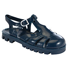 Buy Juju Sammy Jelly Sandals, Navy Online at johnlewis.com