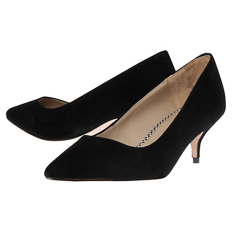 Buy KG by Kurt Geiger Camille Kitten Heel Court Shoes Online at johnlewis.com