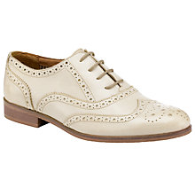Buy Somerset by Alice Temperley Lavendar Leather Wingtip Brogues, White Online at johnlewis.com