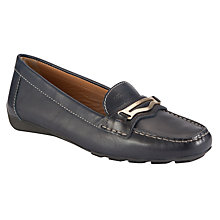 Buy Geox Grin Leather Loafer Driving Shoes Online at johnlewis.com