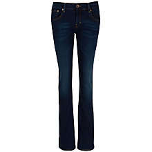 Buy Ted Baker Falon Bootcut Jeans, Mid Wash Online at johnlewis.com