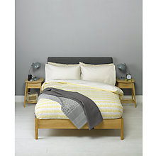 Buy John Lewis Dot Dash Duvet Cover Set Online at johnlewis.com