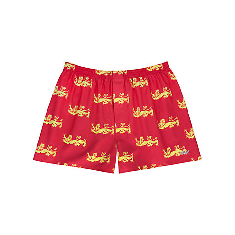 Buy Thomas Pink The Lions Golden Lion Boxer Shorts Online at johnlewis.com