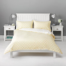 Buy John Lewis Polka Dot Duvet Cover and Pillowcase Set Online at johnlewis.com