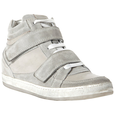 Buy Bertie Pentica Velcro Strap Wedge Trainers Online at johnlewis.com