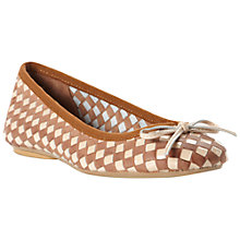Buy Bertie Medoras Woven Leather Ballerina Pumps Online at johnlewis.com