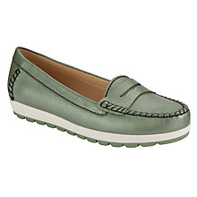 Buy Geox Senda Leather Mocassins Online at johnlewis.com