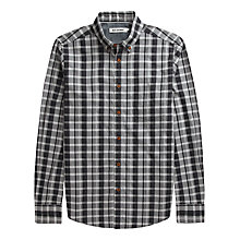 Buy Ben Sherman Mixed Check Shirt, Smoked Pearl Online at johnlewis.com