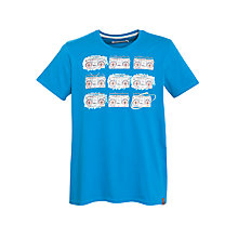 Buy Ben Sherman Retro Stereo Print T-Shirt, Blue Online at johnlewis.com