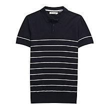 Buy Ben Sherman Stripe Polo Shirt, Navy Online at johnlewis.com