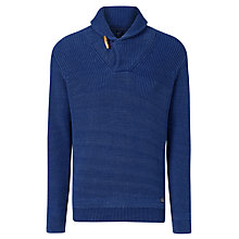 Buy Gant Shawl Collar Cotton Jumper Online at johnlewis.com