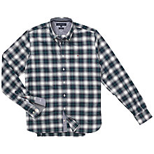 Buy Tommy Hilfiger Wody Check Shirt, Botanical Garden/Peacoat Online at johnlewis.com