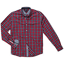 Buy Tommy Hilfiger Twin Lake Shirt, Rio Red/Peacoat Online at johnlewis.com