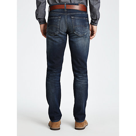 Buy Hilfiger Denim Scanton Stretch Jeans, LA Dark Online at johnlewis.com