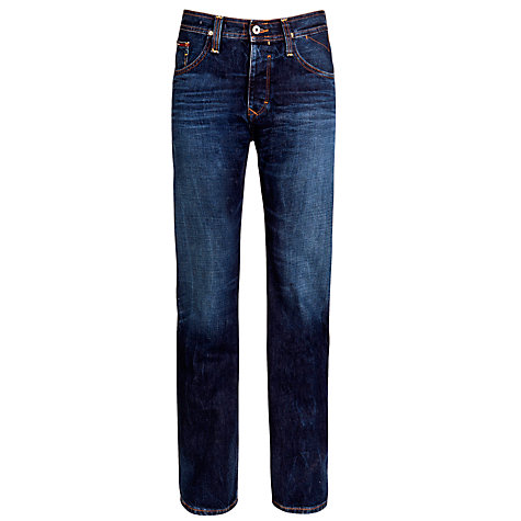 Buy Hilfiger Denim Wilson Straight Jeans, LA Mid Rigid Online at johnlewis.com
