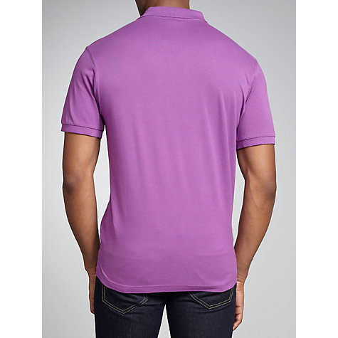 Buy Gant Solid Pique Rugger Polo Shirt Online at johnlewis.com