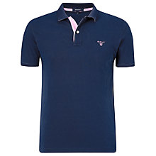 Buy Gant Contrast Colour Rugger Polo Shirt Online at johnlewis.com
