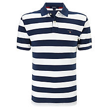 Buy Gant Barstripe Short Sleeve Polo Shirt Online at johnlewis.com