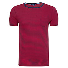 Buy Gant Mini Stripe Chest Pocket T-Shirt Online at johnlewis.com