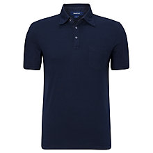 Buy Gant Fine Stripe Short Sleeve Polo Shirt Online at johnlewis.com