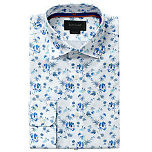 Buy Duchamp Miranda Floral Long Sleeve Shirt Online at johnlewis.com