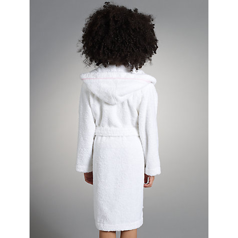 Buy John Lewis Girl Towelling Robe Online at johnlewis.com
