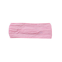 Buy John Lewis Girl Striped Headscarf, Pink Online at johnlewis.com