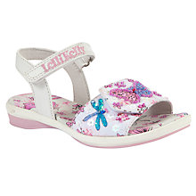 Buy Lelli Kelly Flutterby Sandals, White Online at johnlewis.com