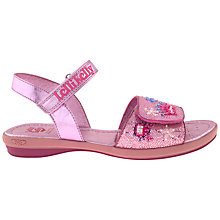 Buy Lelli Kelly Tiara Sandals, Pink Glitter Online at johnlewis.com