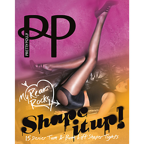 Buy Pretty Polly Tum & Bum Shaper Tights Online at johnlewis.com