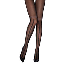Buy Jonathan Aston Desire Tights, Black Online at johnlewis.com