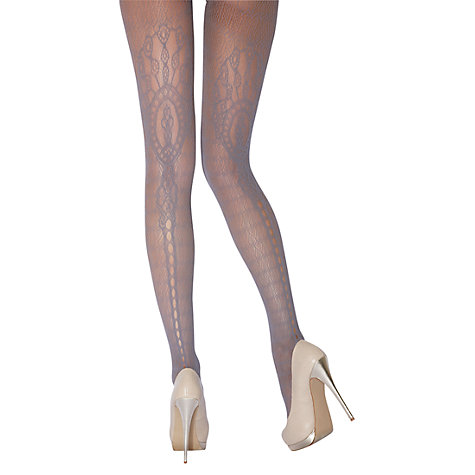 Buy Jonathan Aston Faith Lace Pattern Tights Online at johnlewis.com