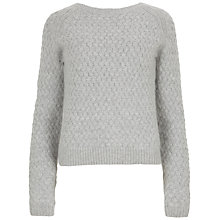 Buy Ted Baker Ammsa Jumper, Grey Marl Online at johnlewis.com