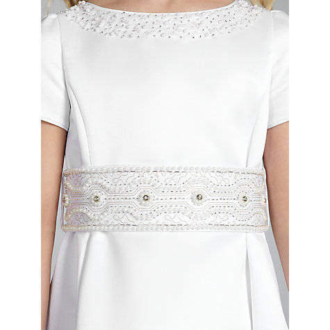 Buy John Lewis Girl Communion Dress, White Online at johnlewis.com