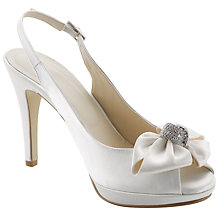 Buy John Lewis Occasion Dukes Satin Bow Trim Court Shoes Online at johnlewis.com