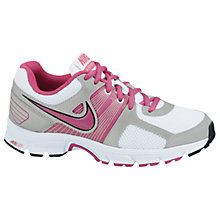 Buy Nike Air Avenge Junior Trainers, Pink Online at johnlewis.com